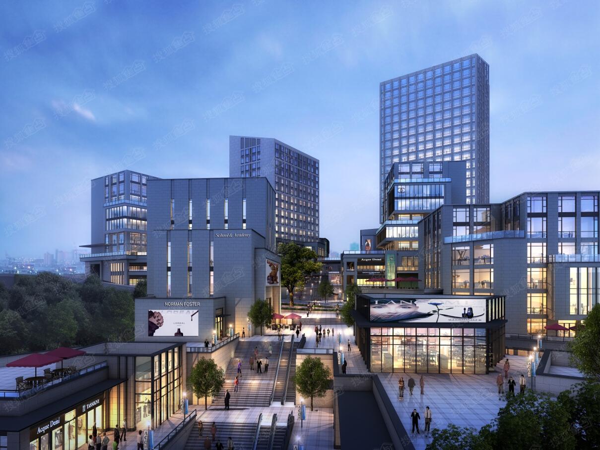 上海经济的心脏——陆家嘴,改革开放的象征