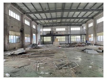 无锡钱桥工业园1500平方带行车机械厂房