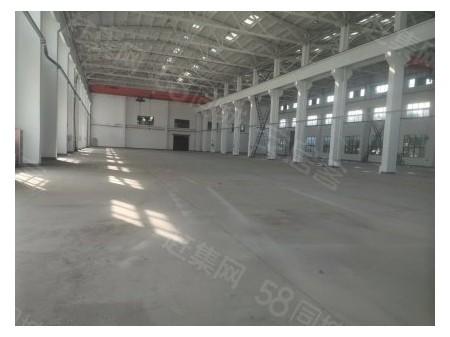 胡埭工业园出租标准单层厂房2700带5吨行车,大车进出方便