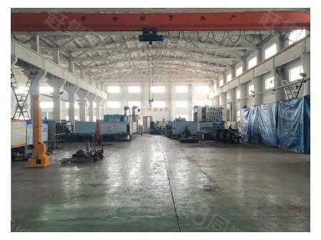胡埭工业园出租标准单层厂房4880带10吨行车,大车进出方便
