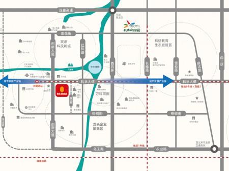 高新新城 地铁口 天健湖旁 500平起企业新驻地 产业新标杆
