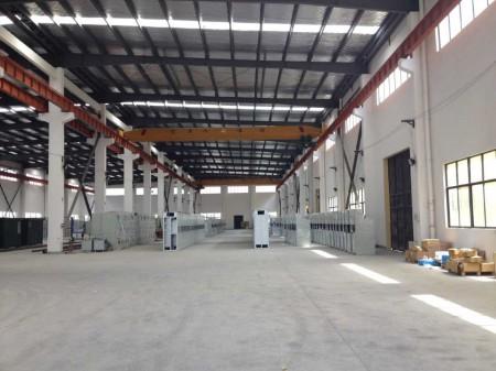 朱泾镇单层厂房出租1100平有2部5吨的行车